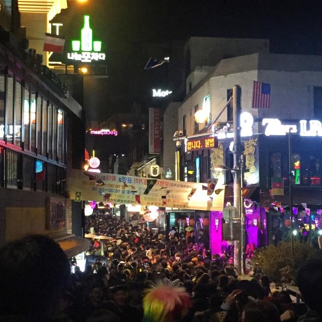 Itaewon Halloween 2015