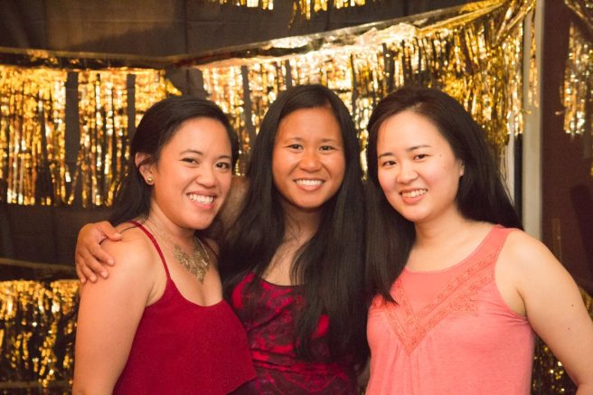 My besties at my surprise 30th birthday party. I miss these two so much! Photo by April Mae June Photoraphy