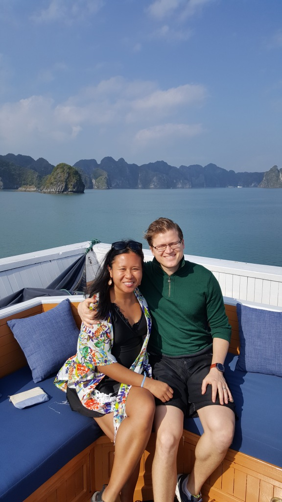 Cruise on Christmas in Ha Long Bay, Vietnam