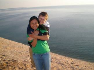 Celebrating the beginning of summer and the end of our undergrad days as we kicked off Beach Week on Lake Michigan in Traverse City at Sleeping Bear Dunes in 2008